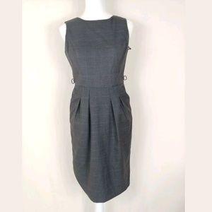 Women Sheath Dress 4 Career Gray Bodycon Pencil
